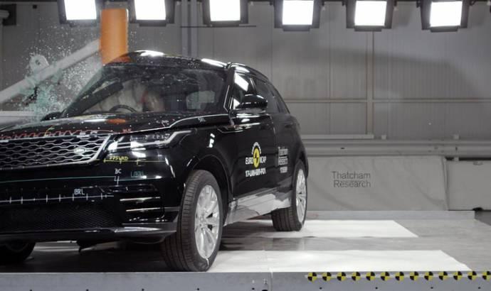 Range Rover Velar awarded five stars by EuroNCAP