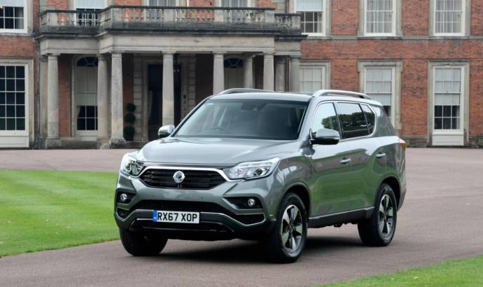 Ssangyong Rexton starts at 27.500 GBP in UK