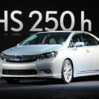 US-sold 2010 Lexus HS250h recalled