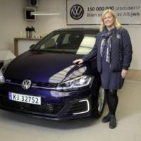 Volkswagen delivers its 150 millionth vehicle in Norway