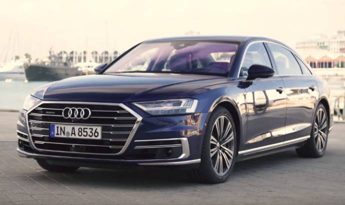 2018 Audi A8 review. The new German model is the most tech savvy car