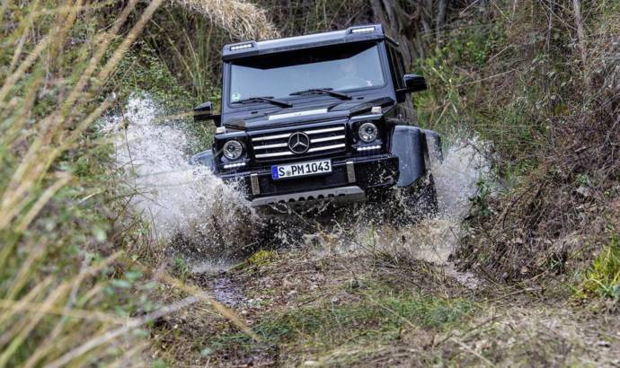 This is your last chance to order a Mercedes-Benz G500 4x4