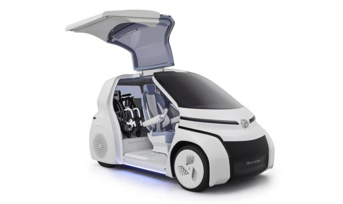 Toyota Concept-i Ride launched