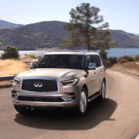 2018 Infiniti QX80 - Official pictures and details