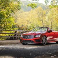2018 Mercedes E-Class Cabriolet US prices announced