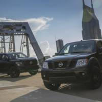 2018 Nissan Midnight Edition available on Frontier and Titan