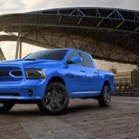 2018 Ram 1500 Hydro Blue Sport