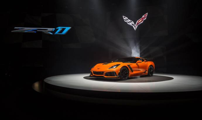 2019 Chevrolet Corvette ZR1 unveiled