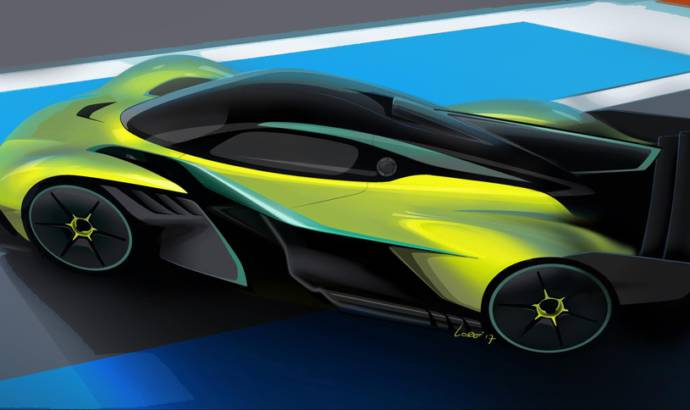 Aston Martin Valkyrie AMR Pro unveiled