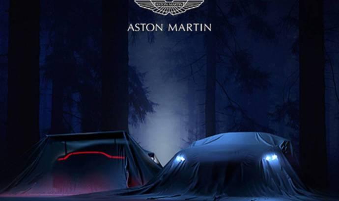 Aston Martin Vantage V8 - New teaser picture