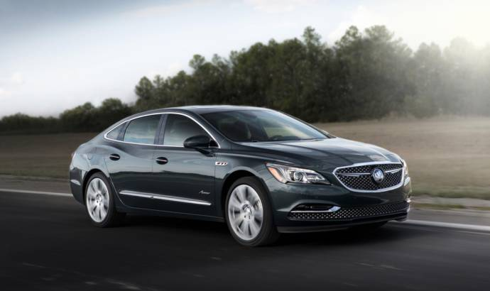 Buick LaCrosse Avenir launched in the US