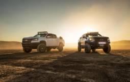 Chevrolet Colorado ZR2 AEV Concept and ZR2 Race Development Truck