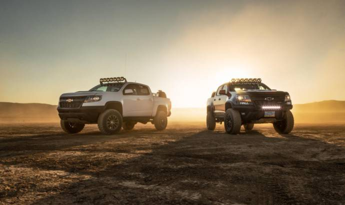 Chevrolet Colorado ZR2 AEV Concept and ZR2 Race Development Truck