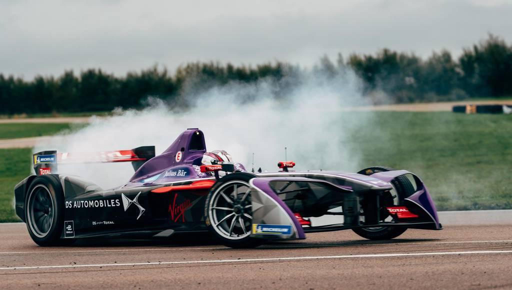 DS Racing Formula E car unveiled