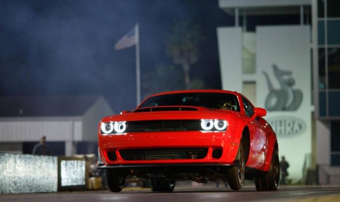 Dodge Challenger SRT Demon reaches its first clients