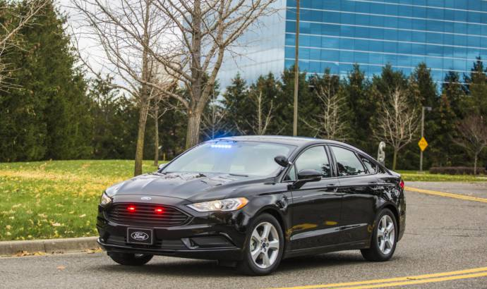 Ford Special Service Plug-In Hybrid Sedan offered in US