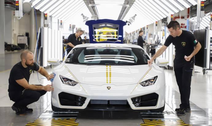 Lamborghini Huracan RWD created for Pope Francis