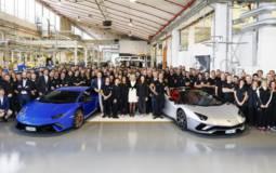 Lamborghini Huracan and Aventador reach new milestones