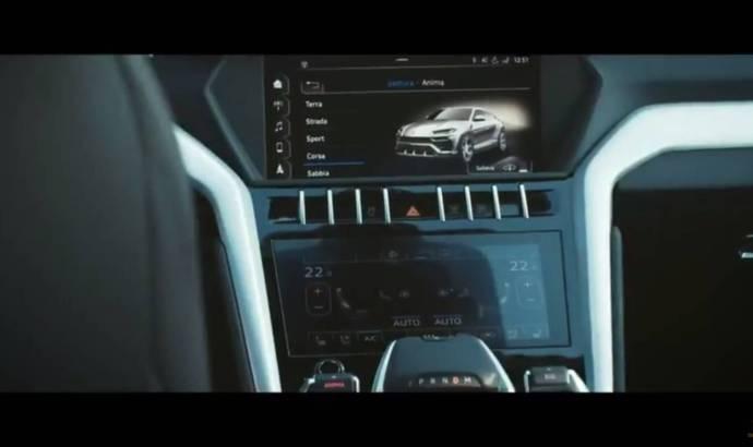 Lamborghini Urus partially revelead in a new teaser video