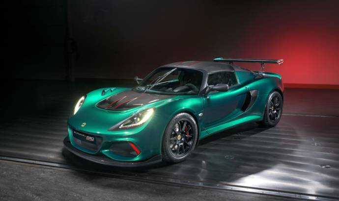 Lotus Exige Cup 430 launched in UK