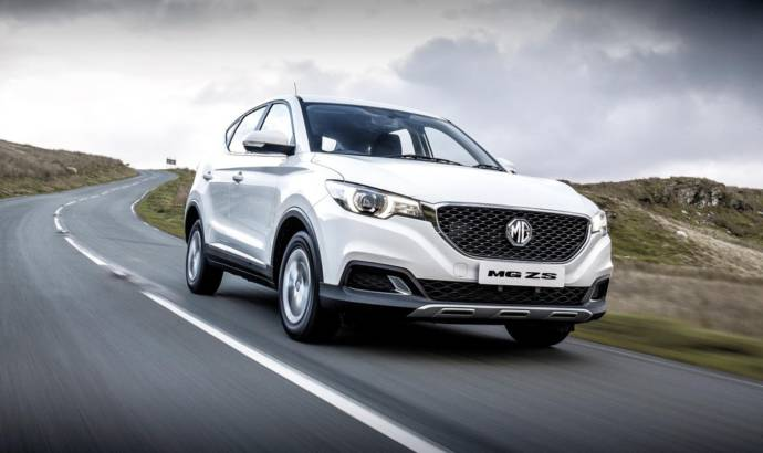 MG ZS crossover available in UK