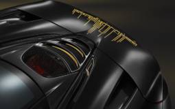 McLaren Satin Black Gold created by MSO