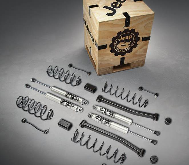 Mopar announces 200 Jeep Performance Parts for the new Wrangler