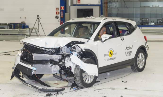 Seat Arona awarded five stars by EuroNCAP