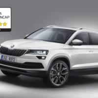 Skoda Karoq receives five stars in EuroNCAP test