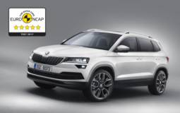 Skoda Karoq receives five stars in EuroNCAP test