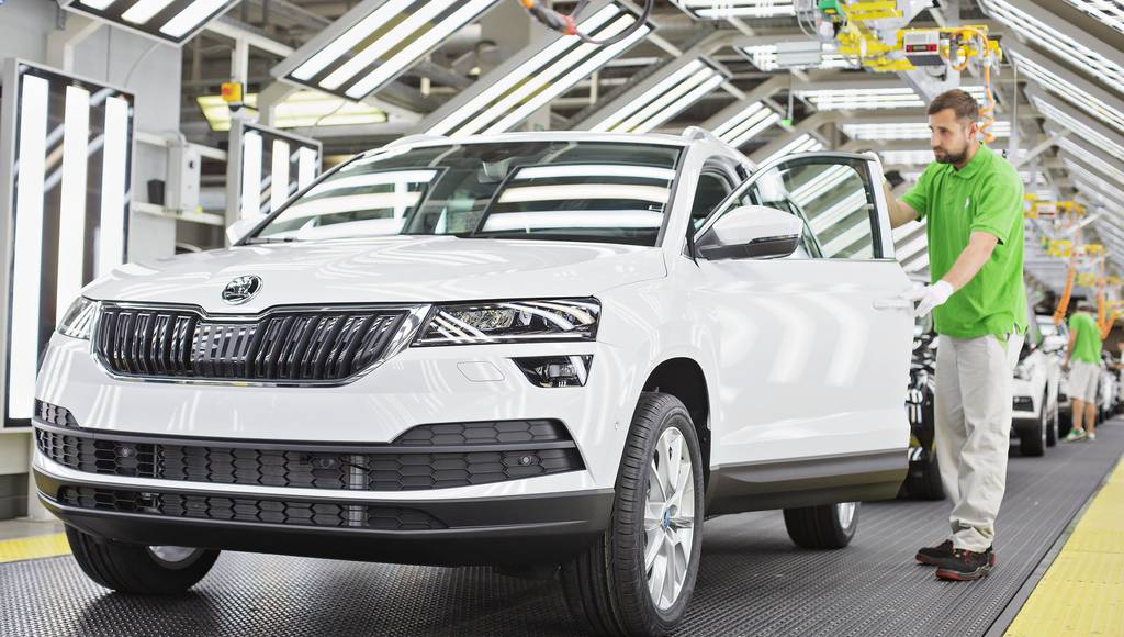 Skoda already reached one million units produced in 2017