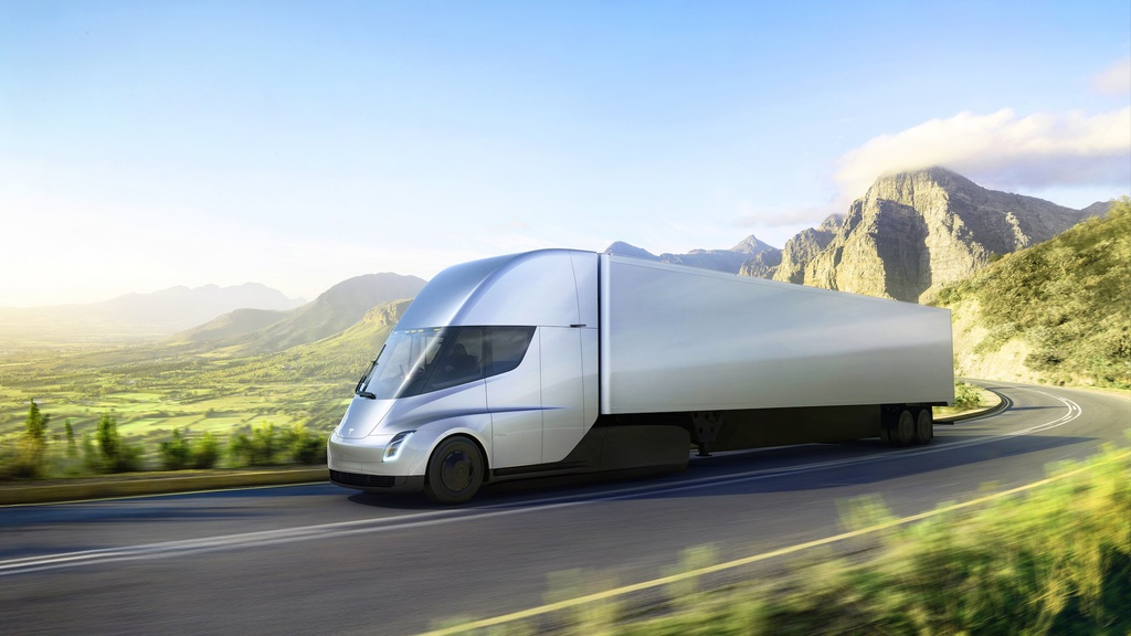 Tesla Semi is the future-500 miles of range and not to 60 mph in just 5 seconds