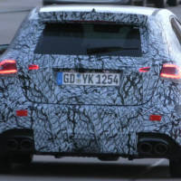The upcoming Mercedes-AMG A45 spied