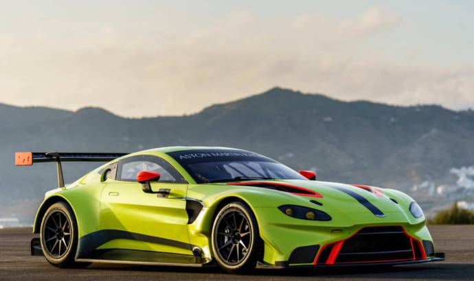 This is how the new Aston Martin Vantage GTE has been born