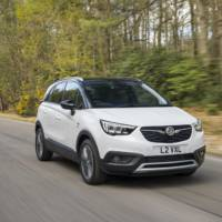 Vauxhall Crossland X rated 5 stars by EuroNCAP