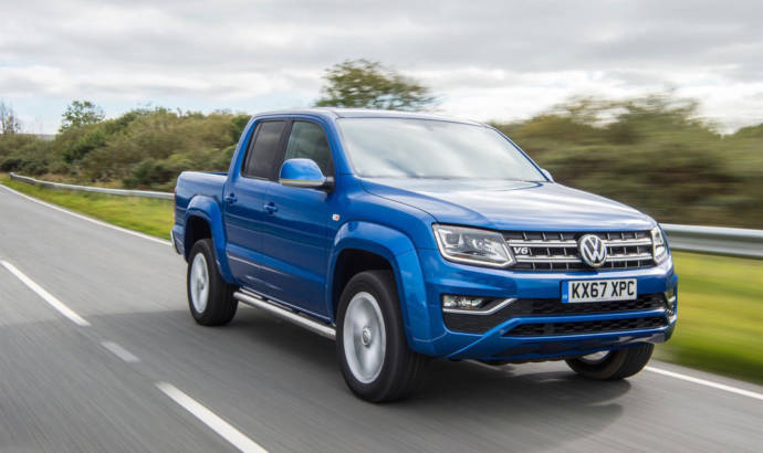 Volkswagen Amarok receives manual transmission in UK