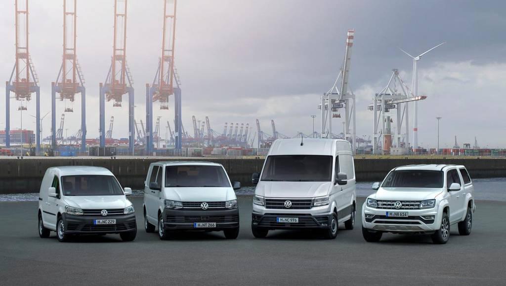 Volkswagen Commercial vehicles sales in 2017