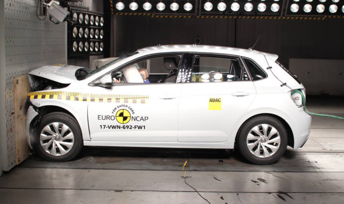 Volkswagen Polo and T-Roc awarded five stars in EuroNCAP