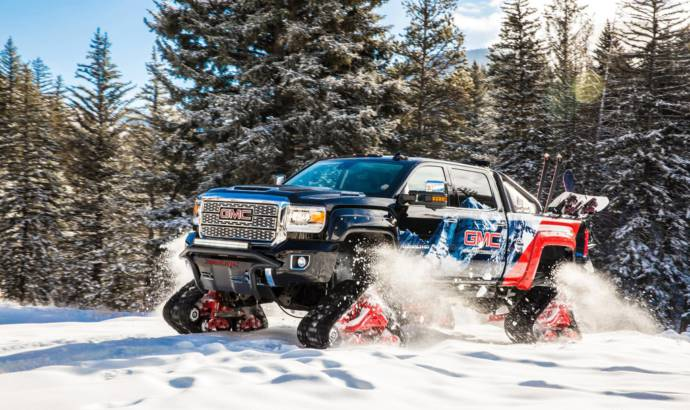 2018 GMC Sierra 2500HD All Mountain concept revealed