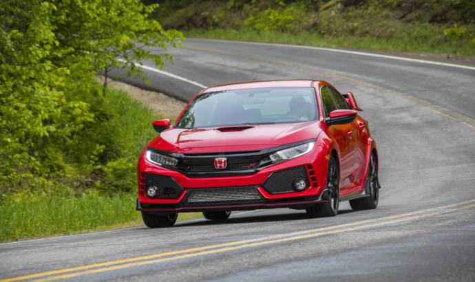 2018 Honda Civic Type R US pricing