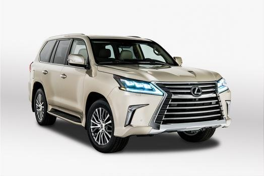 Lexus unveiled the new two-row LX 570