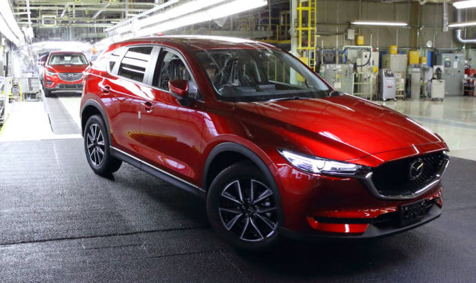 Mazda is working on a new SUV for USA