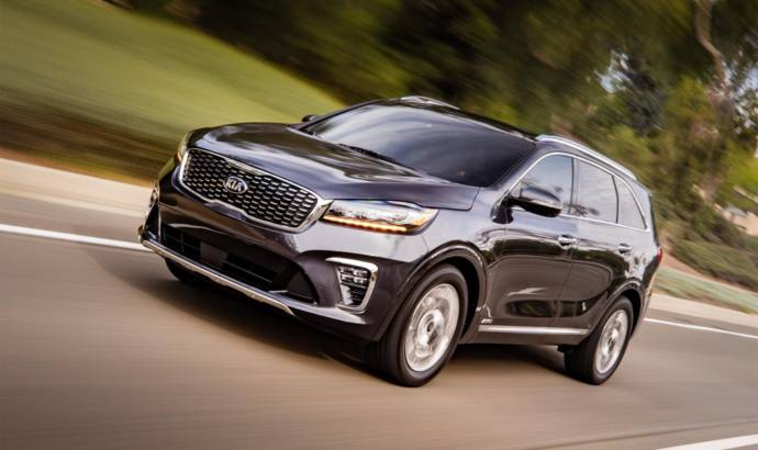 2019 Kia Sorento gets updated during LA Motor Show