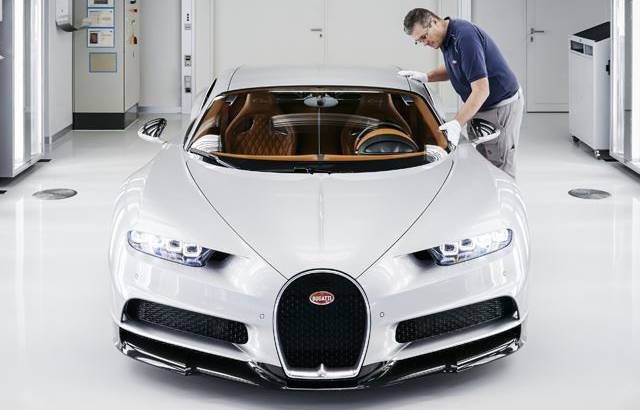 Bugatti produced 70 Chiron units in 2017