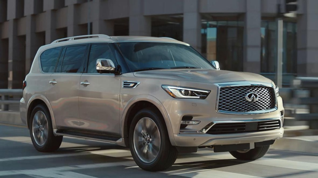 Infiniti QX80 first commercial