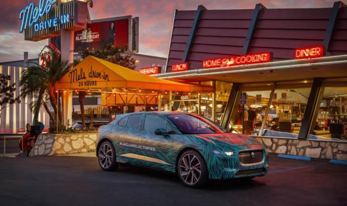 Jaguar I-Pace concept makes final tests in Los Angeles