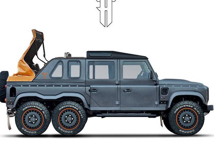Kahn Design has a new six-wheeled project