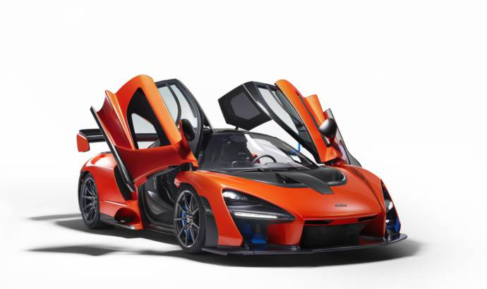 Last McLaren Senna unit auctioned for 2 million euros
