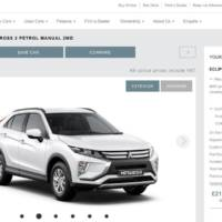 Mitsubishi Eclipse Cross available to buy online