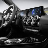 New Mercedes A-Class interior revealed